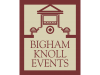 Bigham Knoll Campus Events